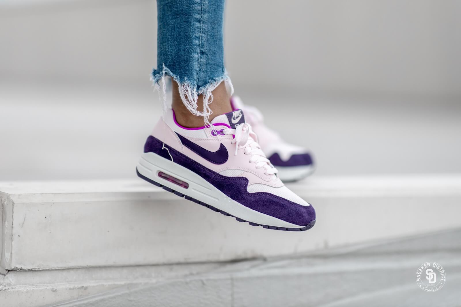 Nike Air Max 1 | Court PurpleWhitePink Flash | Womens