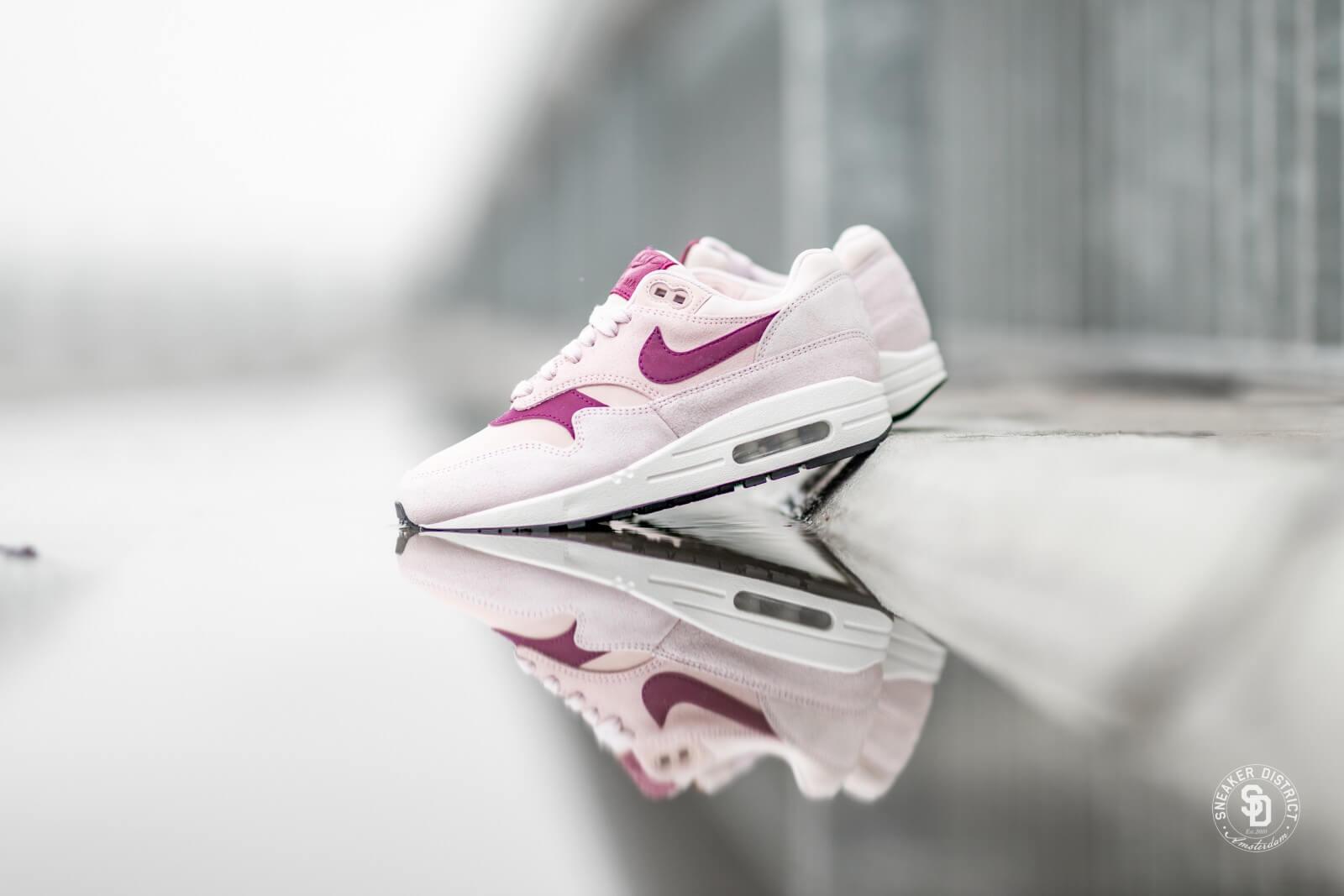 Nike Women's Air Max 1 Premium Barely Rose/True Berry-Summit White
