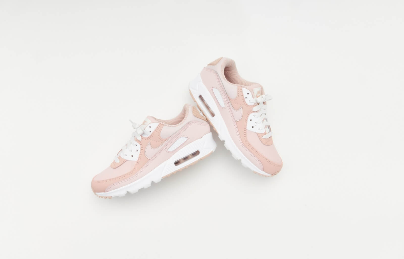 Nike Women's Air Max 90 Barely Rose/Pink Oxford
