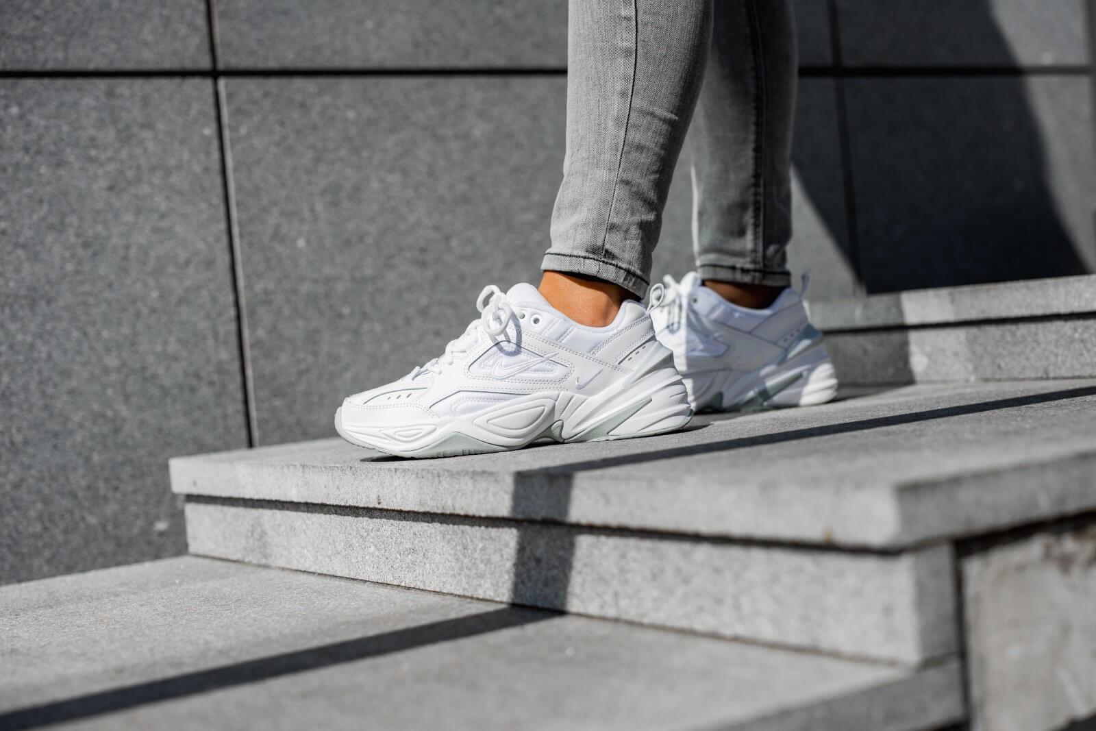 Nike Women's M2K Tekno White/Pure Platinum