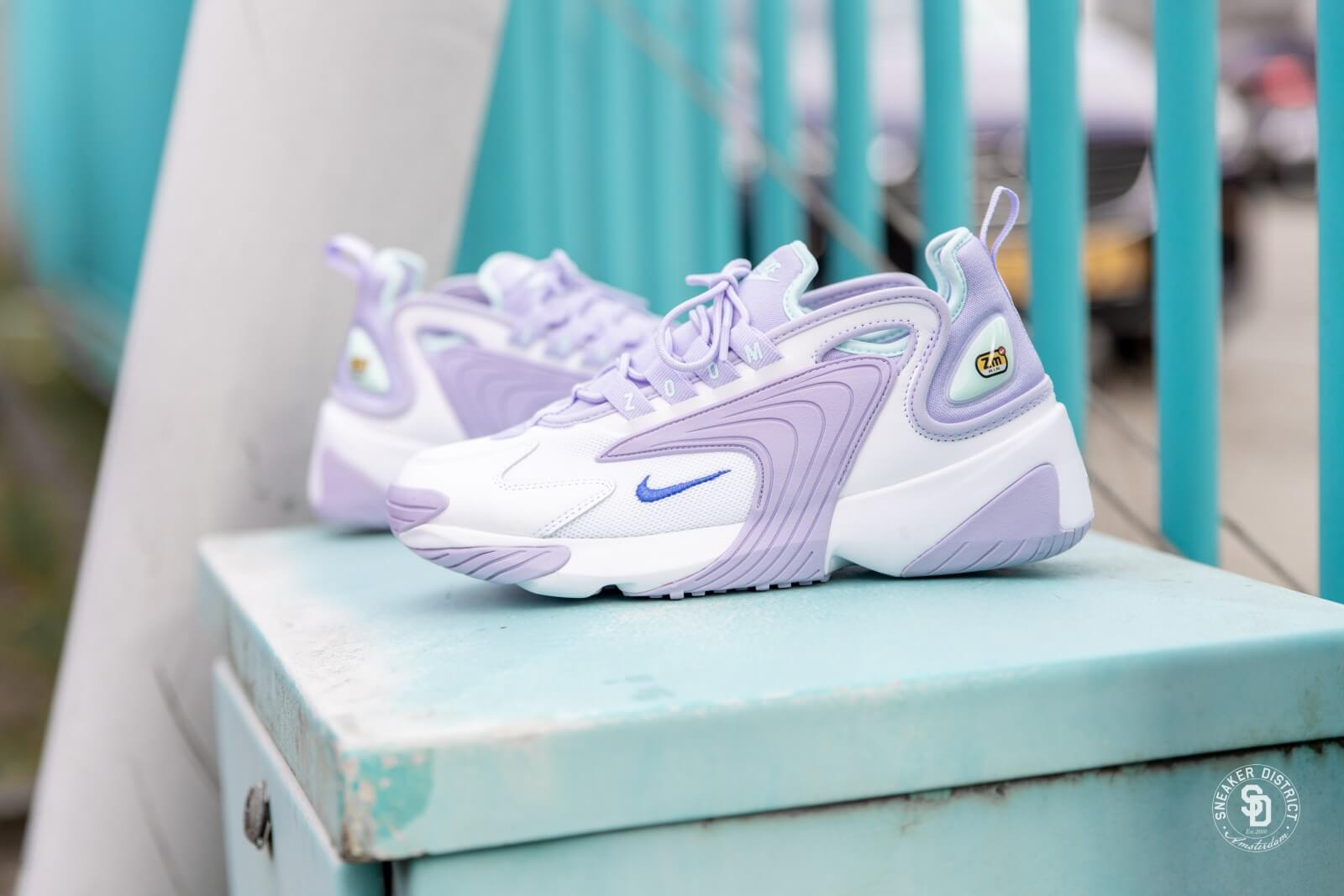 Zoom 2K White/Sapphire-Oxygen Purple
