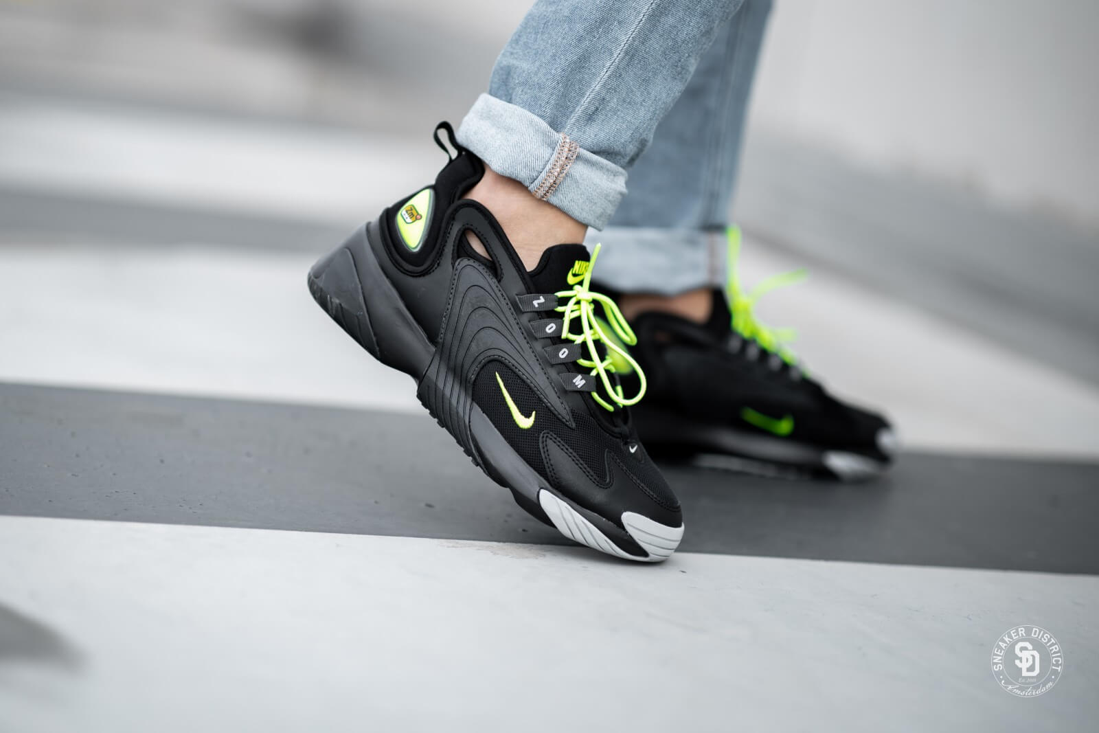 Nike Zoom 2K BlackVolt Anthracite Wolf Grey AO0269 008