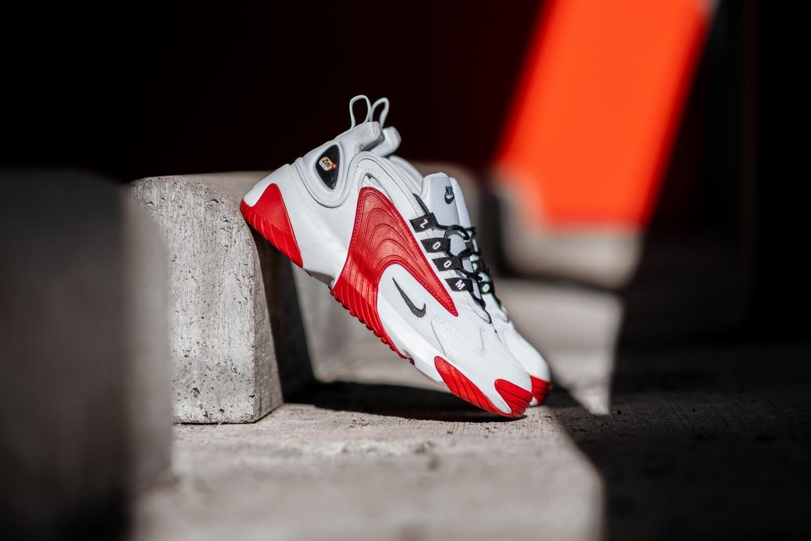 Nike Zoom 2K White/Black-Gym Red