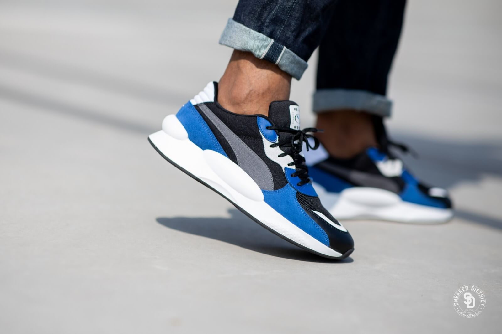 Puma RS 9.8 Space Puma Black/Galaxy Blue - 370230-03