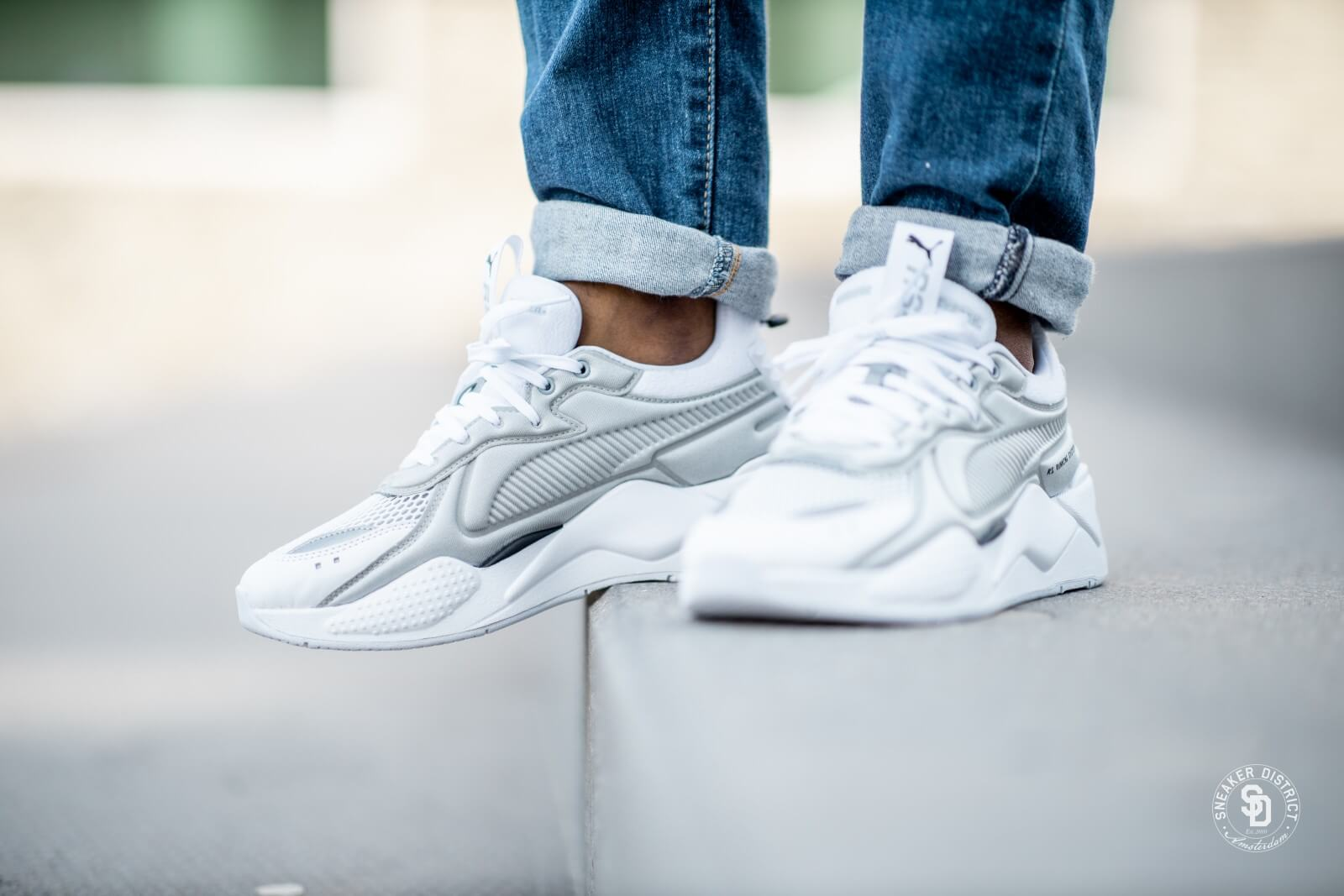 Puma RS-X Softcase Puma White/High Rise - 369819-02