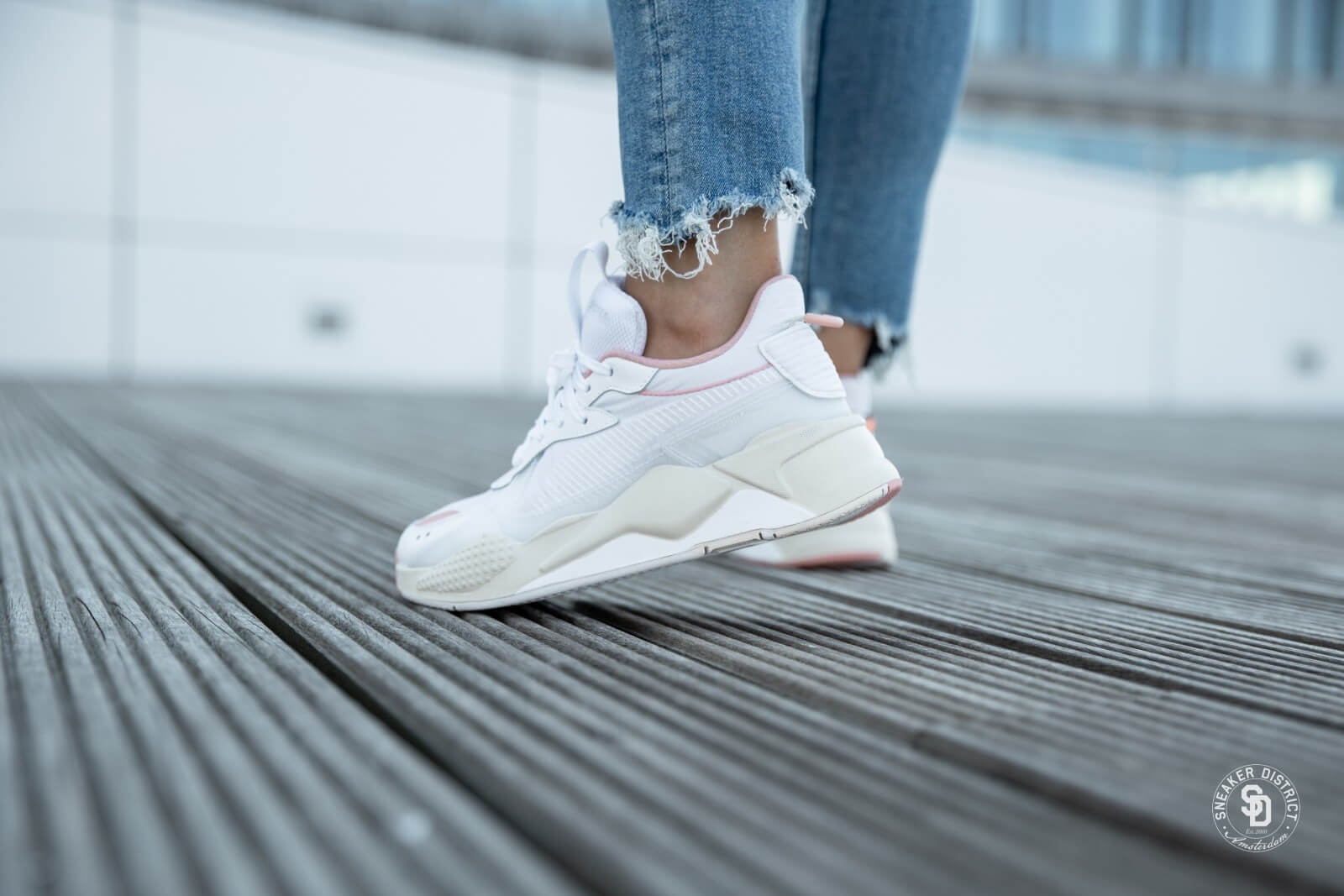 Puma RS-X Tech Puma White/Peach Bud - 369329-04