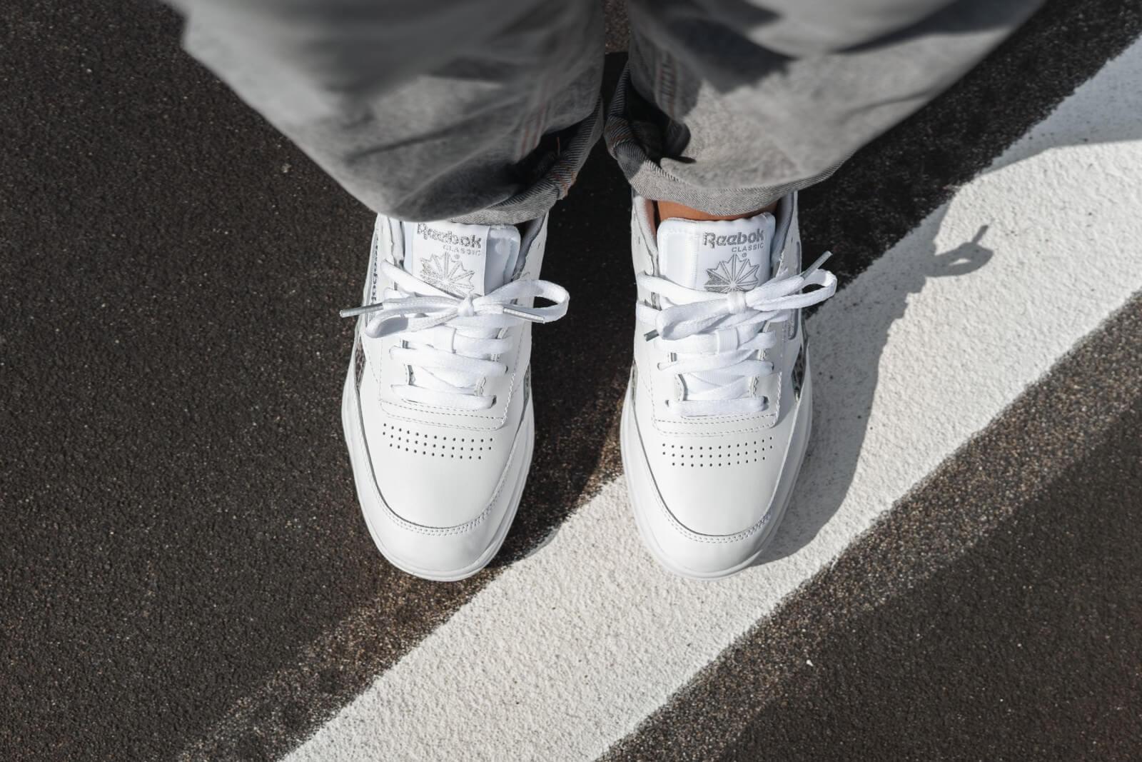 reebok classic club white