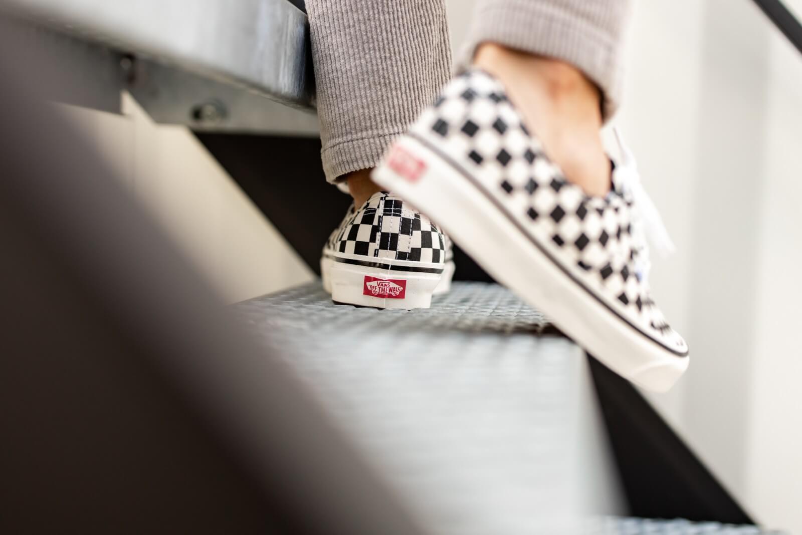 Vans Authentic 44 DX Anaheim Factory Black/Checkerboard