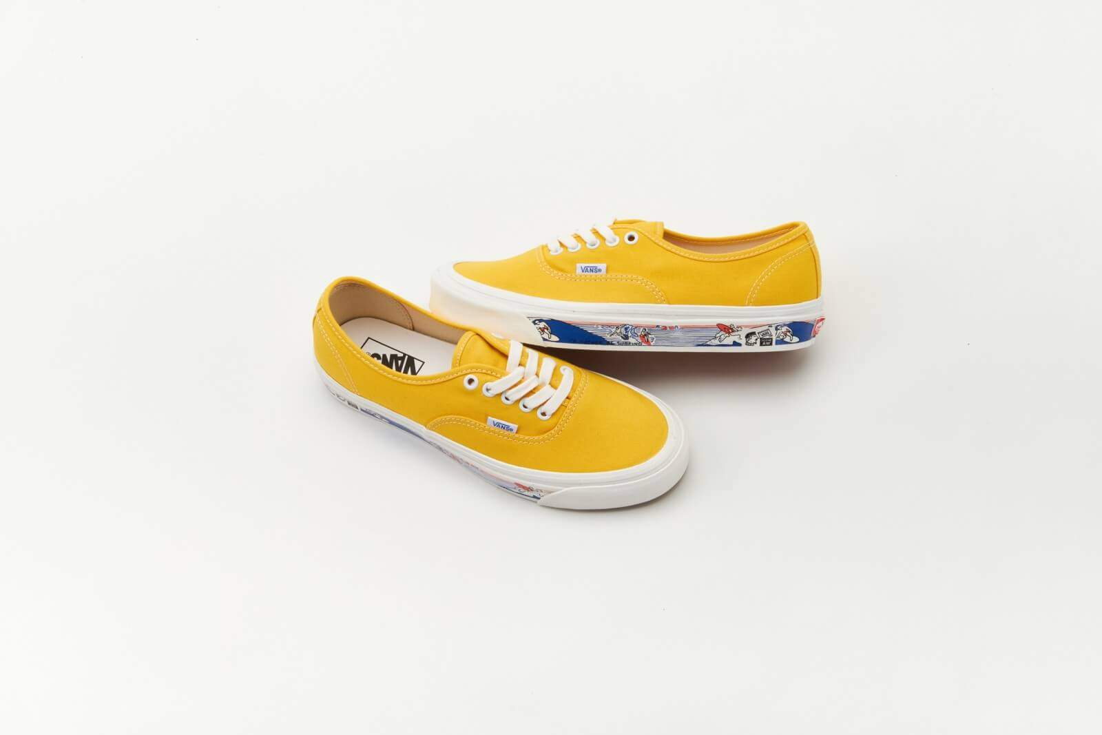 Vans Authentic 44 DX Anaheim Factory Sidewall Pack OG Yellow/Scene At