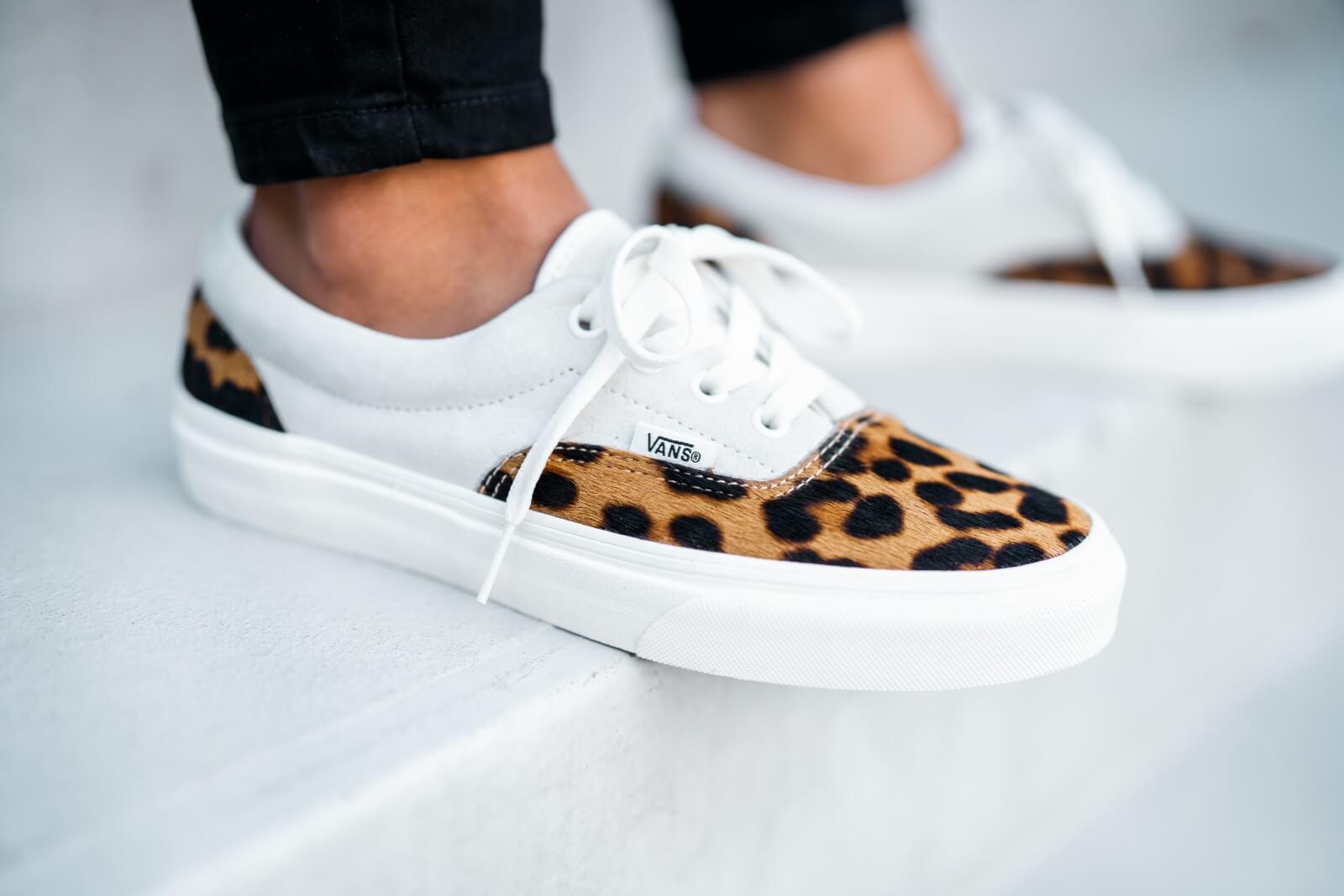 Vans Women's Era Leopard Marshmallow