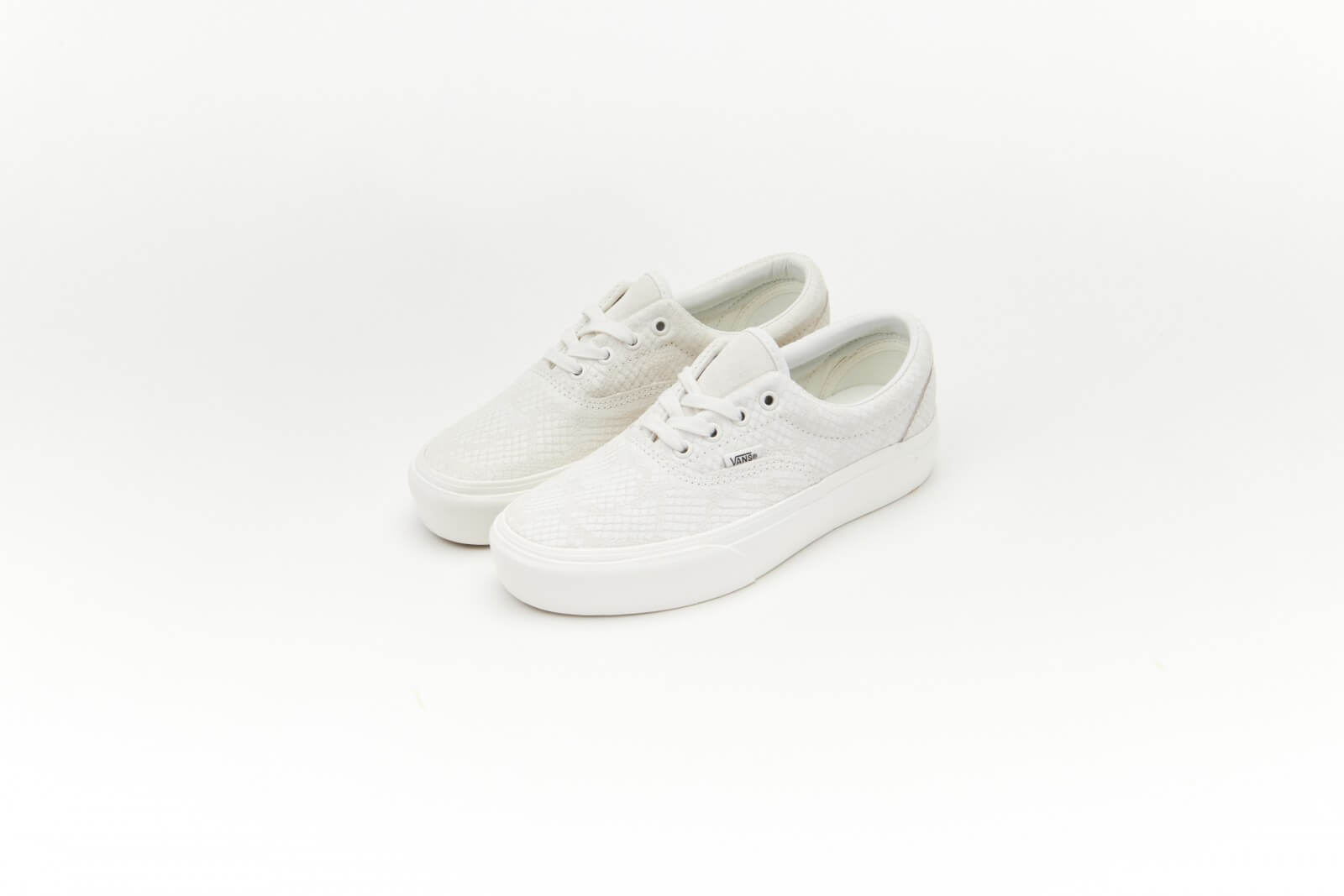 Vans Women's Era Platform Animal Emboss/Blanc de Blanc